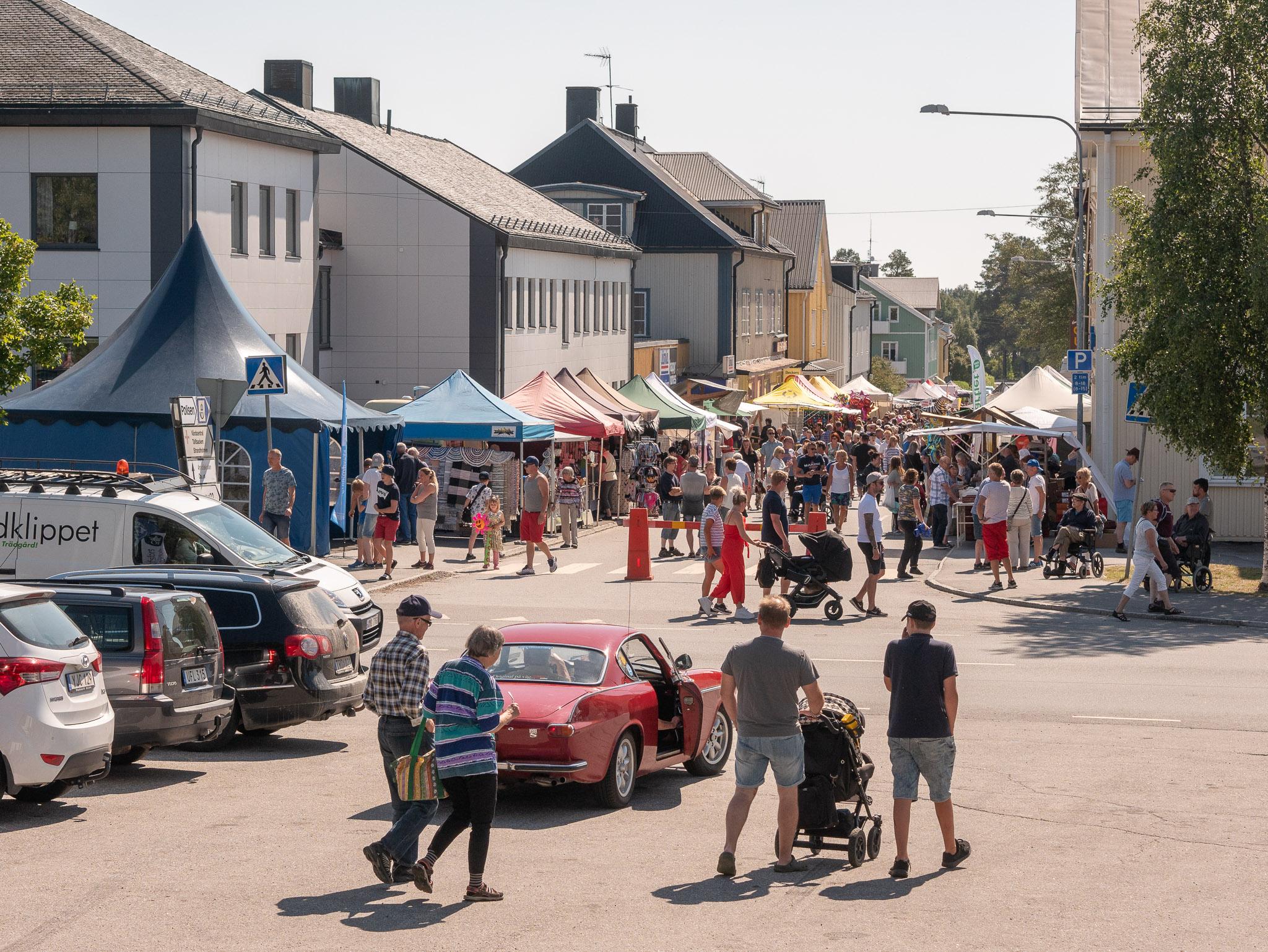 Nordmalings marknad, foto: J Norstedt