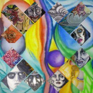 Vernissage - Surrealism & feminism - Emmelie Nordin